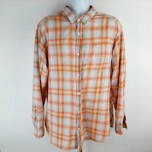 Columbia Men's Long Sleeve Button Front Shirt Size